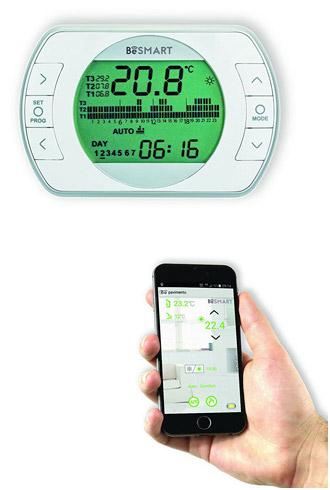 Termostati ambiente per la casa info offerte e prezzi for Perry termostato wifi